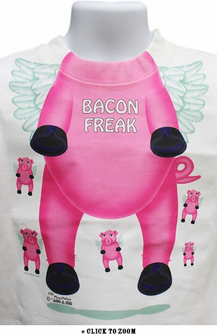 Bacon Freak Toddler Tee