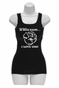 Bacon… I love You Womens Tank Top