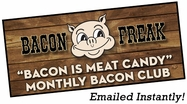 Bacon is Meat Candy Bacon Club Gift Certificate