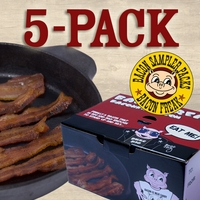 Bacon is Meat Candy Bacon Sampler - 5 Different Bacons