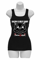 Bacon Is Meat Candy (Swine & Wine) Womens Tank Top