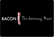 """Bacon The Gateway Meat"" Placemat"