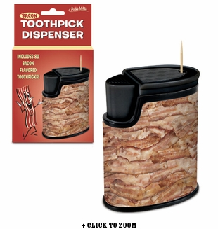 Bacon Toothpick Dispenser