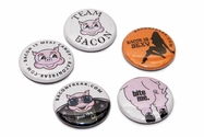 Baconfreak Button Pins - 1""