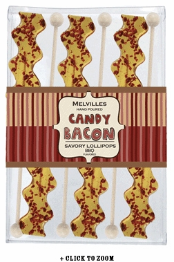 BBQ Bacon Strip Lollipop 6 Piece Gift Set