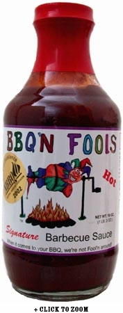 BBQ'n Fools Hot Signature Barbeque Sauce