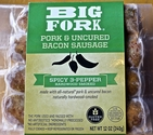 Big Fork Bacon Sausage - Spicy 3 Pepper