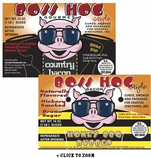 Boss Hog Bacon - Hickory & Honey BBQ Rubbed Combo Pack