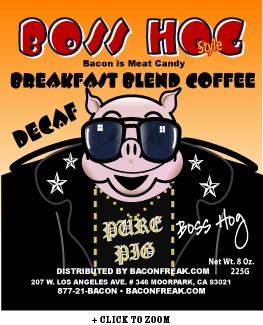 Boss Hog Breakfast Blend Decaf Coffee