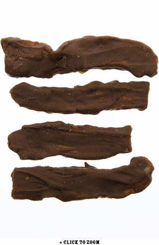 Boss Hog Milk Chocolate Covered Bacon Strips
