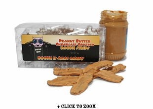 Boss Hog Peanut Butter Chocolate Bacon Strips