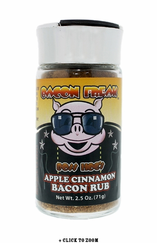 Boss Hog's Apple Cinnamon Bacon Rub