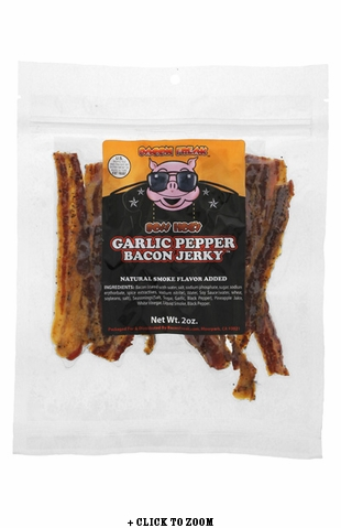 Boss Hog's Bacon Jerky - Garlic Pepper Style