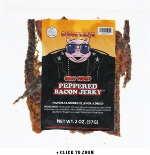 Boss Hog's Bacon Jerky - Peppered Style