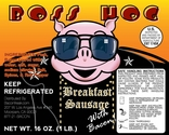 Boss Hog's Breakfast Sausage with Bacon