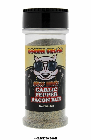 Boss Hog's Garlic Pepper Bacon Rub