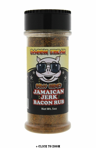 Boss Hog's Jamaican Jerk Bacon Rub