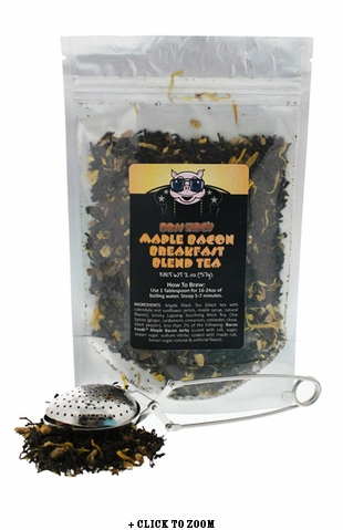 Boss Hog's Maple Bacon Breakfast Blend Tea