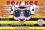 Boss Hog Style Bacon - Honey BBQ Rubbed Bacon - 2pk