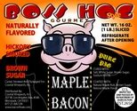 Boss Hogs Hickory Smoked Maple Bacon - 2pk