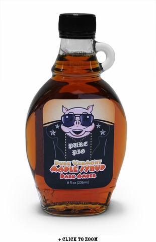 Boss Hogs Pure Vermont Dark Amber Maple Syrup