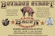 Bourbon Street - Cajun Style Hickory Smoked Country Bacon - 2pk