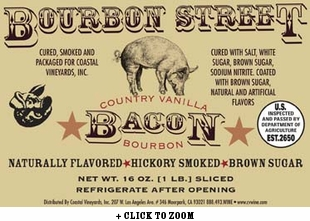 Bourbon Street Vanilla Bourbon Country Bacon