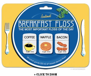 Breakfast Floss 3 Pack