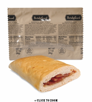Bridgford Bacon Cheddar Pocket Sandwich