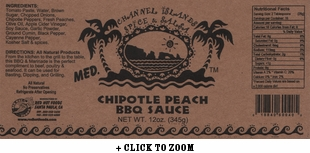 Channel Islands Chipotle Peach BBQ Sauce