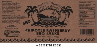 Channel Islands Chipotle Raspberry BBQ Sauce