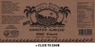 Channel Islands Roasted Garlic BBQ Sauce