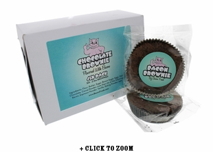 Chocolate Brownie Flavored with Bacon - 6pk