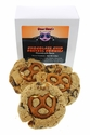 Chocolate Chip Pretzel Cookies Flavored With Bacon - 3pk