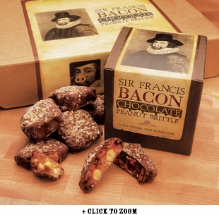 Chocolate Covered Sir Francis Bacon Peanut Brittle - 3 oz