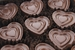 Milk Chocolate Hearts Flavored With Bacon - 9pc - Click to Enlarge