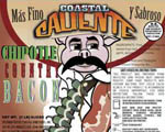 Coastal Caliente Chipotle Bacon - 2pk
