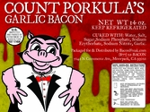 Count Porkula's Garlic Bacon