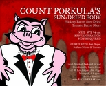 Count Porkula's Sun Dried Body Bacon