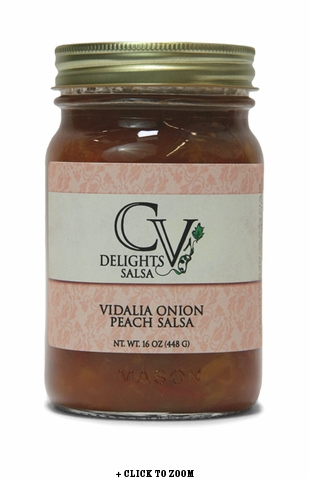 CV Delights Vidalia Onion Peach Salsa