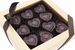Dark Chocolate Hearts Flavored With Bacon - 10pc - Click to Enlarge