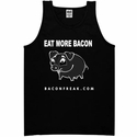 Eat More Bacon Mens Tank Top