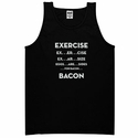 Exercise. . .Bacon Men's Tank Top