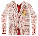 Faux Real Bacon Tuxedo Shirt