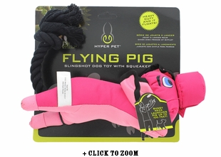 Flying Pig Slingshot Dog Toy