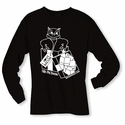 """Gift Me Bacon"" Long Sleeve Shirt - Black"