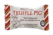 Hagensborg Truffle Pig - Dark Peppermint Bar Bite Size