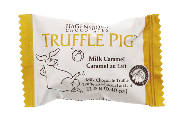 Wholesale - Hagensborg Truffle Pig - Milk Caramel Bar Bite Size