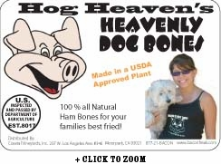 Heavenly Hog Real Pork Dog Bones
