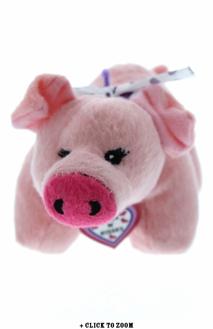 Hogs-N-Kisses Plush Piggy